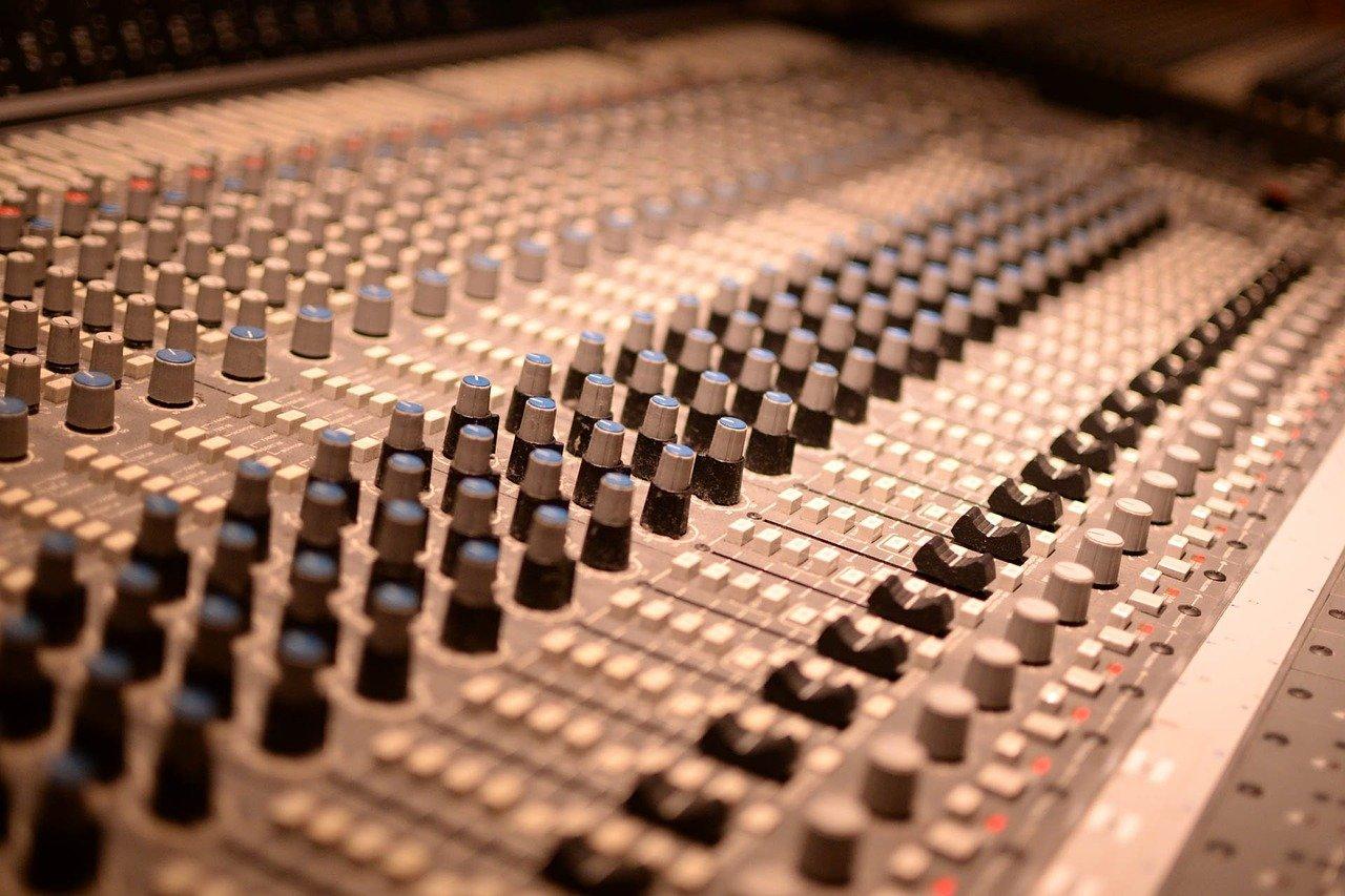 mixer, controller, music